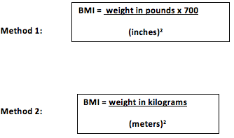 BMI - body mass index calculator